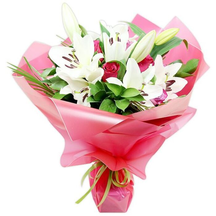 Yours Truly - Order This Breathtaking Bouquet Today from Handy Flowers.